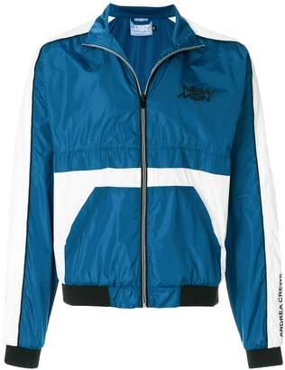 Andrea Crews Colour-Block Zipped Jacket