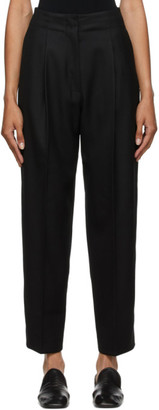 Arch The Black Wool Trousers