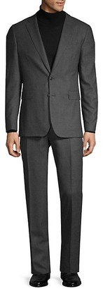 Burberry Standard-Fit Wool Suit