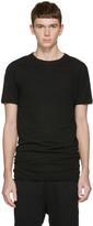 Isabel Benenato Black Double Collar T-shirt