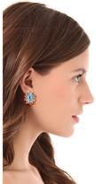 Kenneth Jay Lane Oversized Stud Earrings