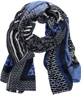 Betty Barclay Long multi-print scarf