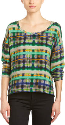 Plenty by Tracy Reese Crinkle Crepe Pullover
