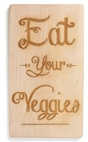 Nordstrom Milk and Honey Luxuries 'Eat Your Veggies' Cutting Board