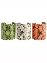 Z Designs Snakeskin Cuff
