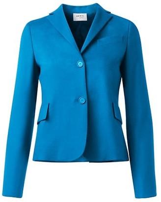 Akris Punto Wool & Cashmere Blazer Jacket