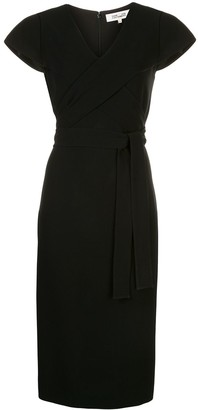 Dvf Diane Von Furstenberg Wrap Front Dress