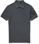 Y-3 - Slim-fit Printed Cotton-piqué Polo Shirt
