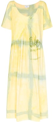 Collina Strada x Browns 50 Mariposa Princess tie-dye dress