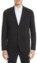 Givenchy Men's Star Tape Stretch Wool Jacket