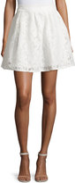 Romeo & Juliet Couture Lace A-Line Skirt, White