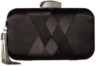 Jessica McClintock Molly Minaudiere (Black) Clutch Handbags