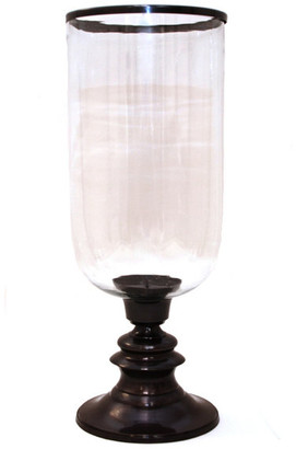 Accents For The Home Step Base Hurricane With Rim, Bronze