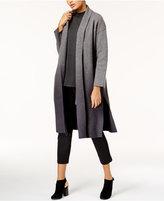 Eileen Fisher Ombré Wool Kimono Coat