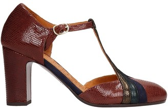 Chie Mihara Walki Sandals In Brown Leather