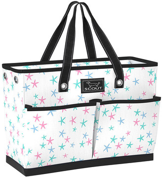 Scout Bags SCOUT Bags Women's Handbags - White & Black Soap Star Tote