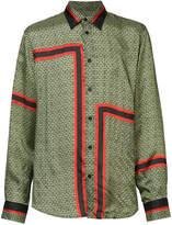 Givenchy patterned logo shirt