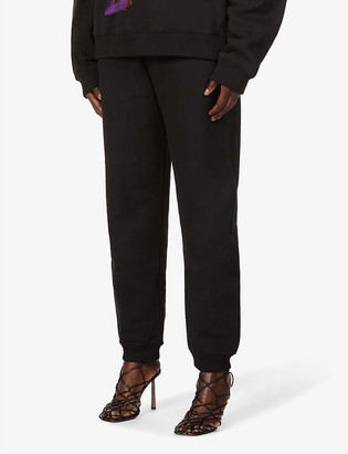 Fenty by Rihanna Tapered mid-rise cotton-jersey jogging bottoms