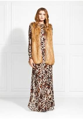 Rachel Zoe Bobine Camel Faux Fur Vest