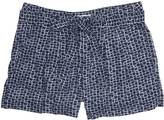 "Nautica Printed Belted Short (5"")"