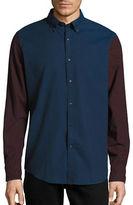 Nautica Colourblock Flannel Shirt