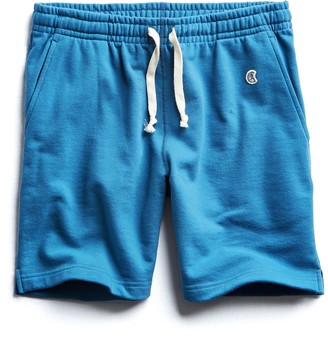 Todd Snyder + Champion Terry Warm Up Short in Slate Teal
