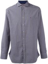 Hackett slim-fit plaid shirt