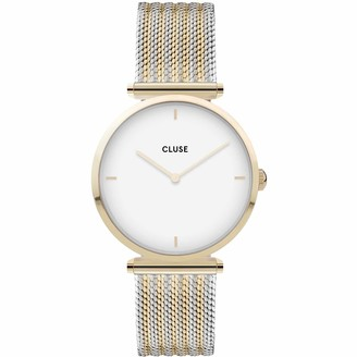 Cluse Womens Analogue Quartz Watch with Stainless Steel Strap CW0101208002
