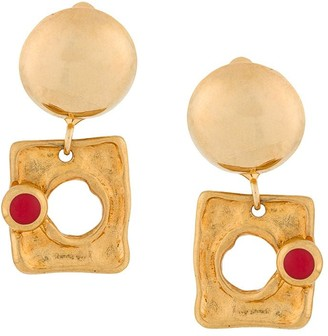 Marni Abstract Pendant Earrings