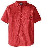 Columbia Men's Big-Tall Thompson Hill Solid Short Sleeve Shirt-s
