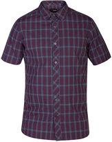 Hurley Men's Short-Sleeve Eli Plaid Shirt
