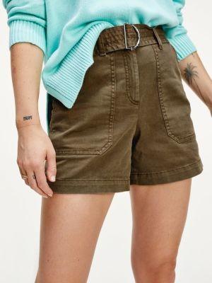 Tommy Hilfiger Stretch Cotton Twill Utility Shorts