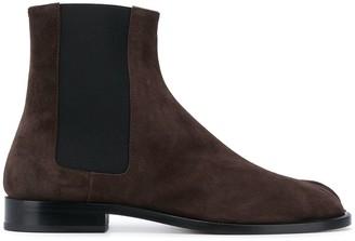Maison Margiela Split Toe Slip-On Boots