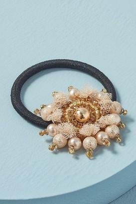 Deepa Lacie Flower Hairband