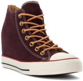 Converse Chuck Taylor Lux Peached Canvas Wedge Sneaker 7.5 M