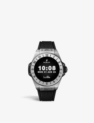 Hublot 440.NX.1100.RX E Titanium Qualcomm Snapdragon rubber-strap watch