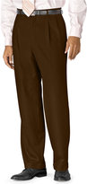 Lauren Ralph Lauren Big and Tall 100% Wool Double-Reverse Pleated Dress Pants