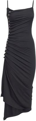 Paco Rabanne Asymmetric Light Jersey Dress