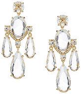 Kate Spade Crystal Cascade Statement Chandelier Earrings