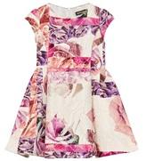 Roberto Cavalli Rose Jacquard Dress