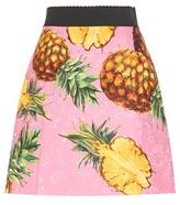 Dolce & Gabbana Printed Jacquard Skirt