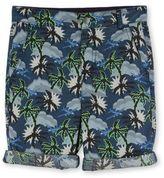 Stella McCartney blue hawaiian print lucas shorts