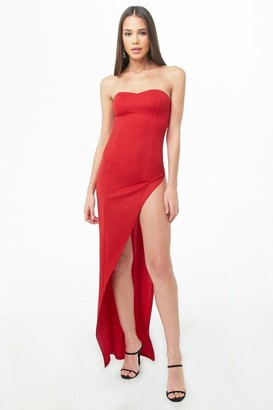 Forever 21 Kikiriki Asymmetrical Tube Dress