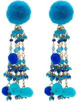 Rosantica Alchimia earrings with bead embellishment