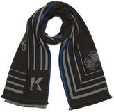 Karl Lagerfeld Women's Travel Blanket Scarf Black