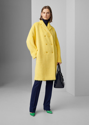Ralph Lauren Thomasina Alpaca-Wool Coat