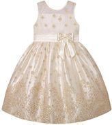 Girls 7-16 & Plus Size American Princess Glitter Flower Illusion Dress