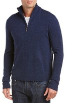 Qi Mock Neck 1/4-zip Sweater.