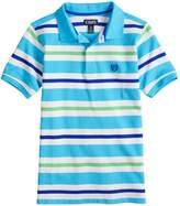 Chaps Boys 4-20 Cabe Striped Polo