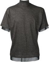Kolor knitted top - men - Nylon/Wool/Polyester - 3